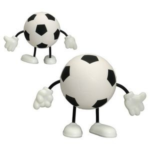 Soccer Stress Reliever Figure